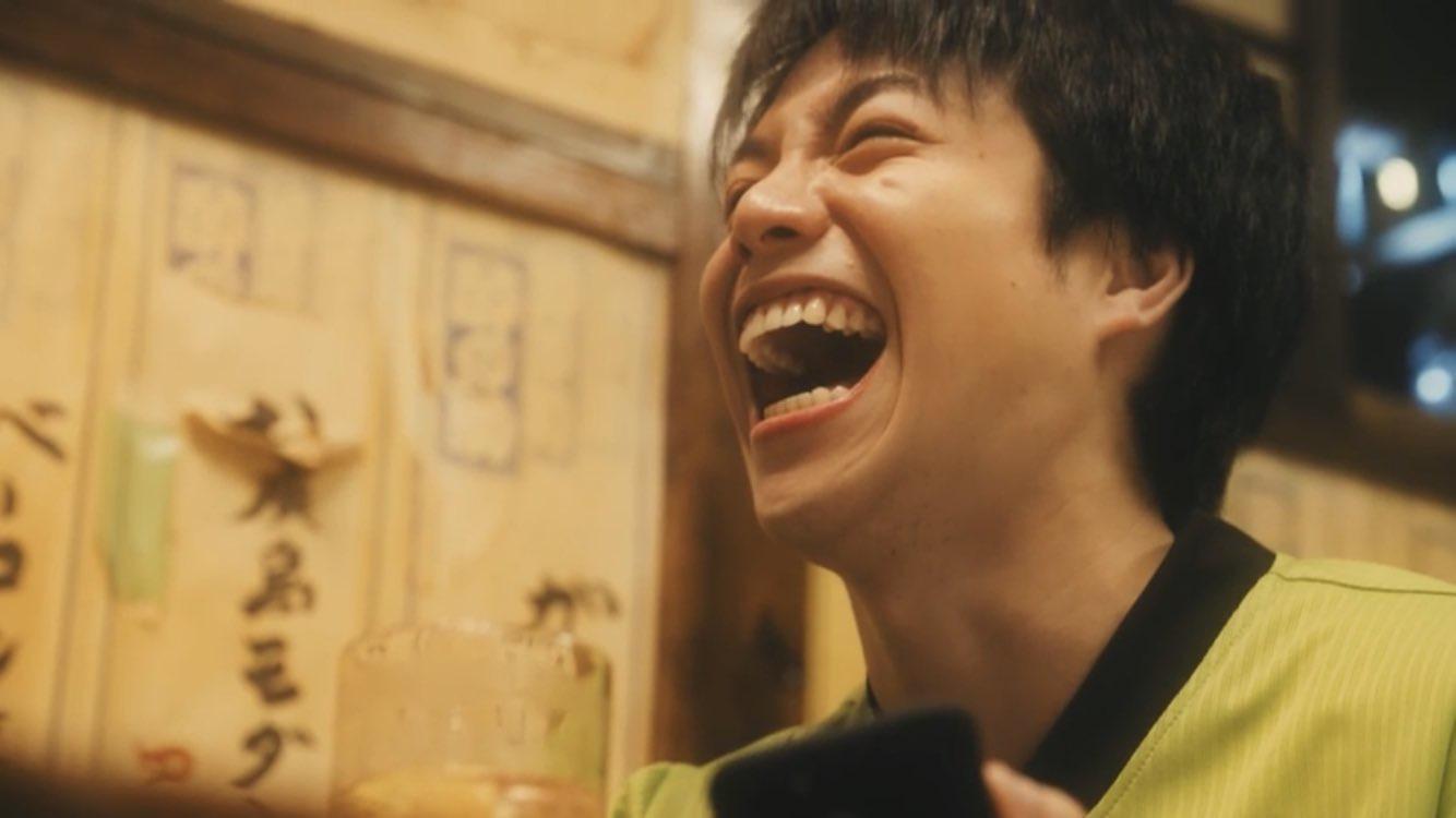 最高の笑顔の重岡大毅さん画像