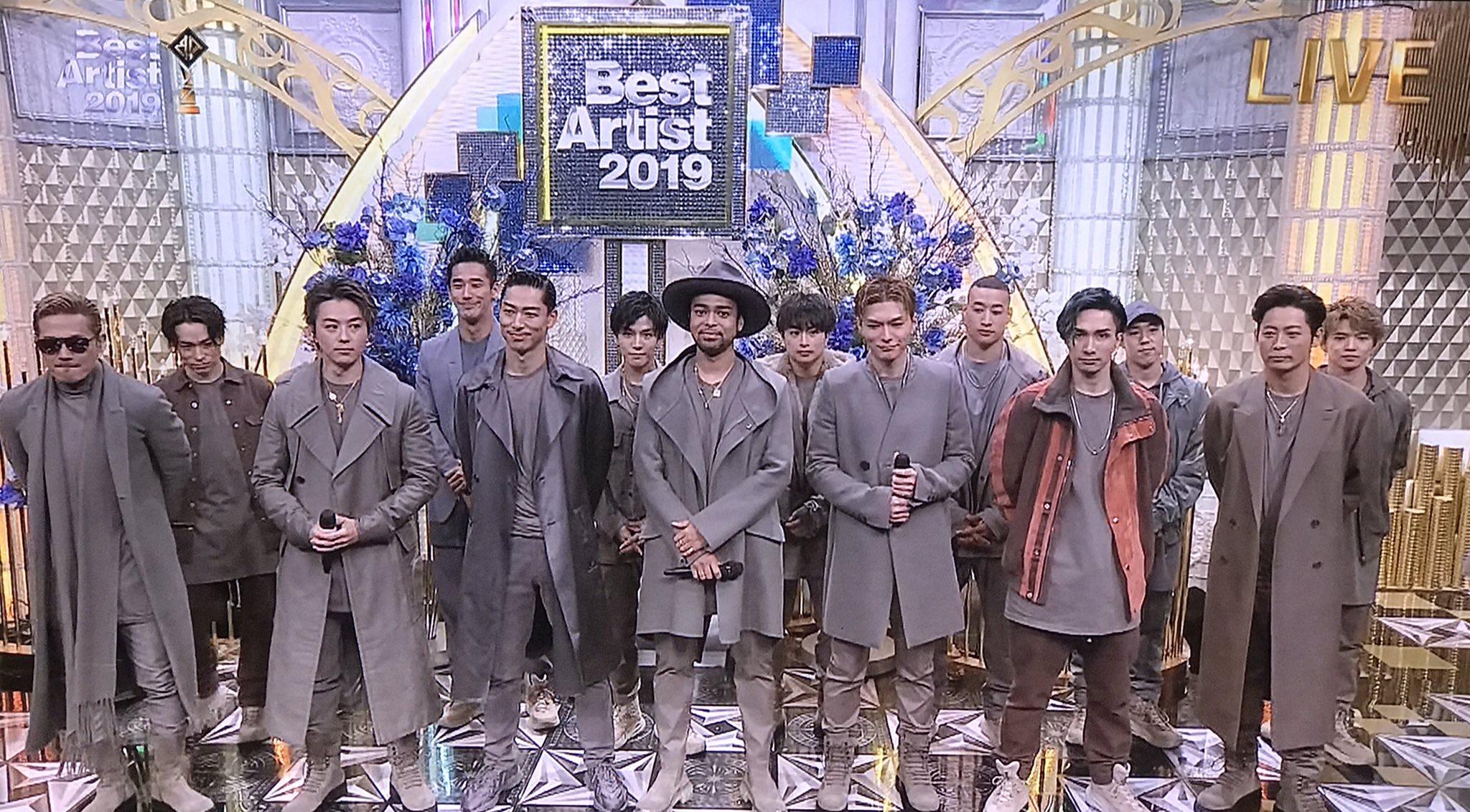 ベスト ヒット アーティスト 2019