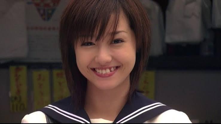 1リットルの涙のときの沢尻エリカさんの笑顔画像…可愛すぎます