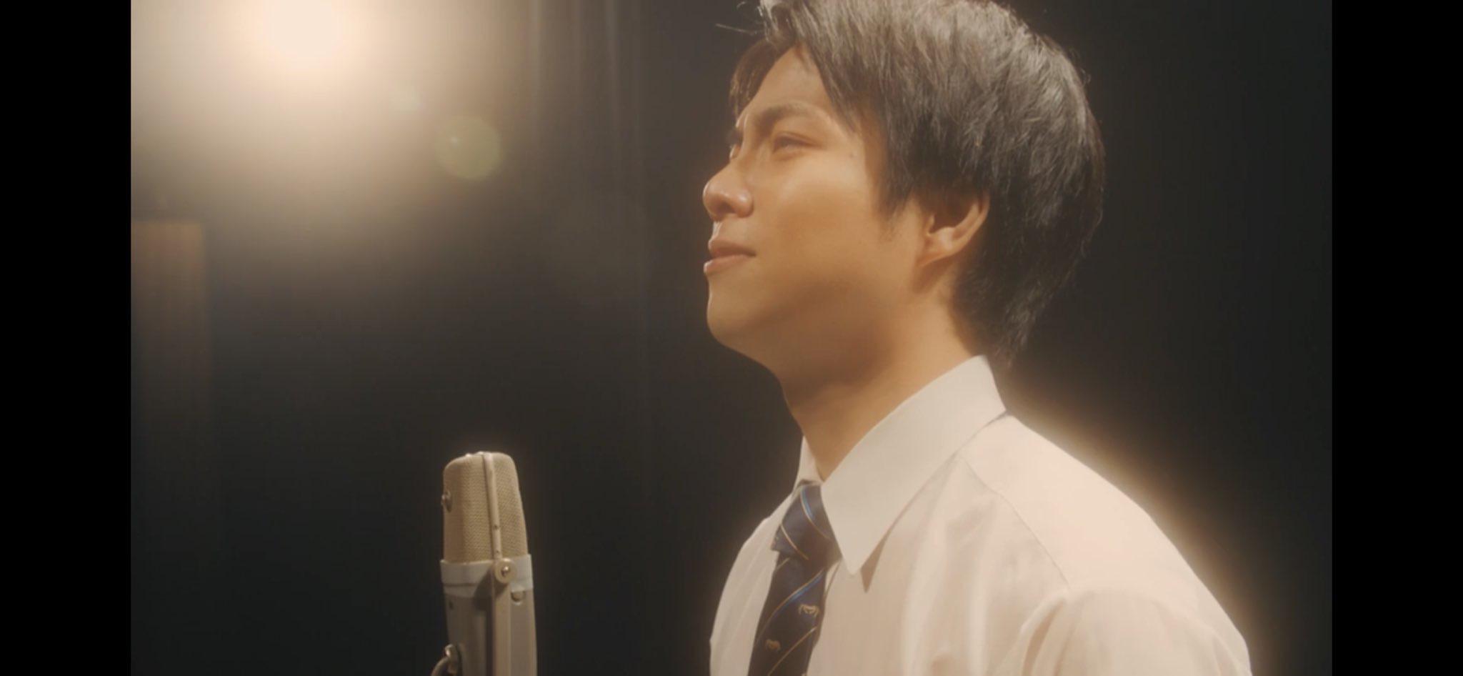 涙の演技前の重岡大毅さん画像
