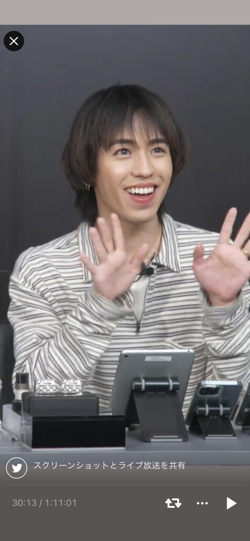 りゅうちぇるさん黒髪画像6