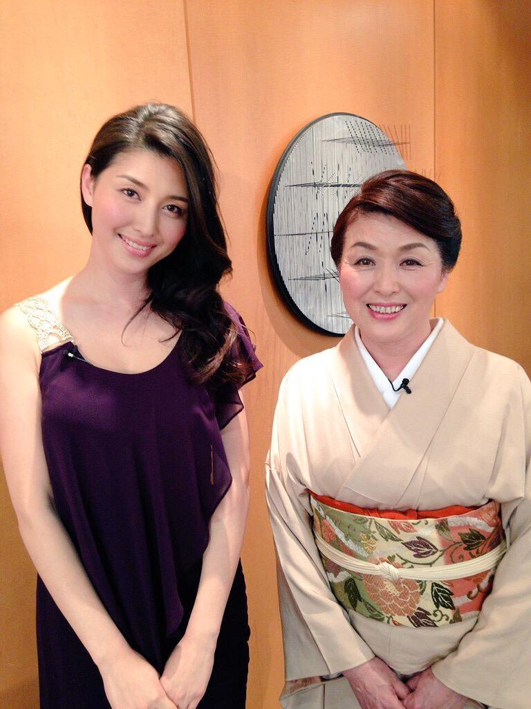 橋本マナミさんと母親画像1
