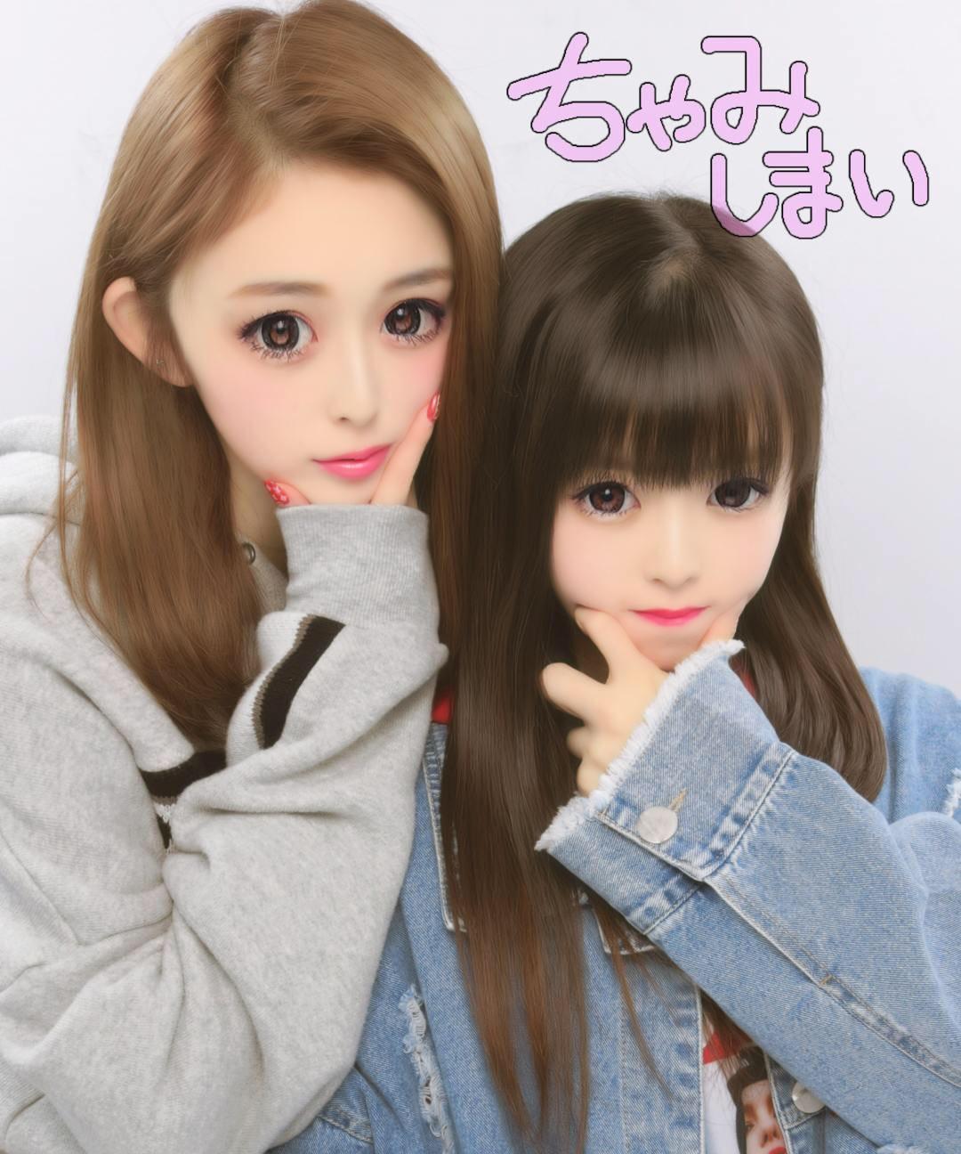 ゆうちゃみさんと妹画像