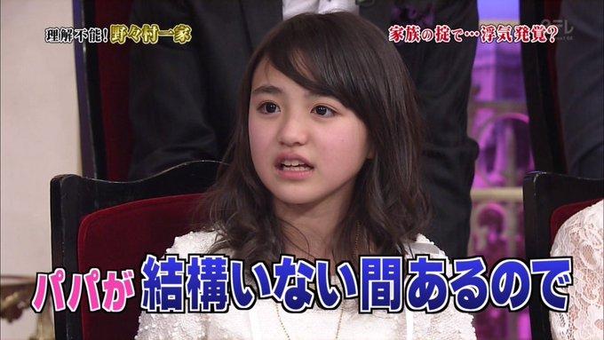 野々村真さんの娘、香音さんの昔の顔画像3