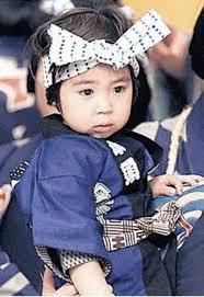 寺島しのぶの息子、眞秀君顔画像1(幼少期)